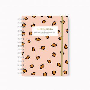 Planner Pink Leopard