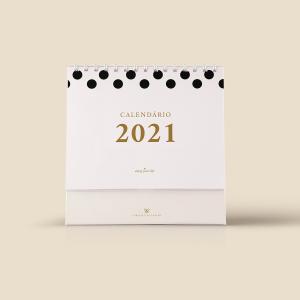 Calendário 2021 Dots
